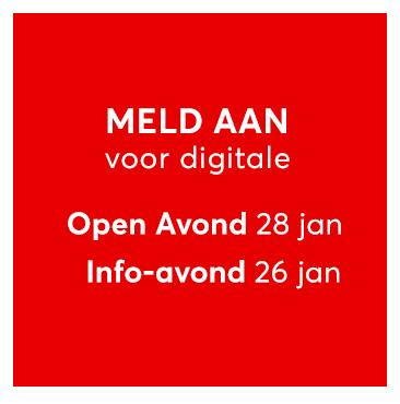 Welkom op de digitale Open dag